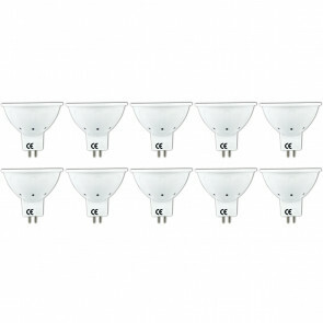 LED Spot 10 Pack - Aigi Firona - GU5.3 MR16 Fitting - 6W - Warm Wit 3000K - 12V