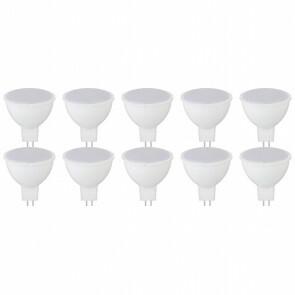 LED Spot 10 Pack - Fona - GU5.3 Fitting - 4W - Helder/Koud Wit 6400K