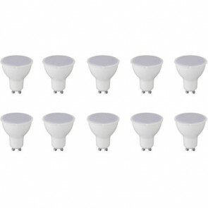 LED Spot 10 Pack - GU10 Fitting - 6W - Helder/Koud Wit 6400K