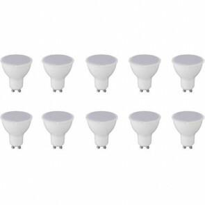 LED Spot 10 Pack - GU10 Fitting - 6W - Warm Wit 3000K
