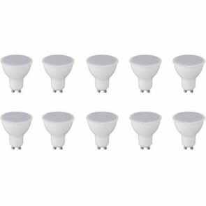 LED Spot 10 Pack - GU10 Fitting - 8W - Helder/Koud Wit 6400K