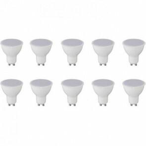 LED Spot 10 Pack - GU10 Fitting - 8W - Helder/Koud Wit 6400K