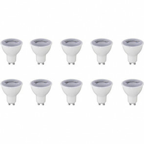 LED Spot 10 Pack - GU10 Fitting - Dimbaar - 6W - Helder/Koud Wit 6400K