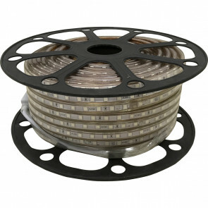 LED Strip - Aigi Strabo - 50 Meter - Dimbaar - IP65 Waterdicht - Rood - 5050 SMD 230V