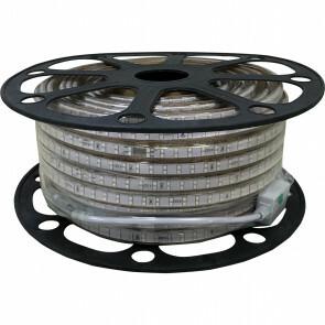 LED Strip - Aigi Strobi - 50 Meter - Dimbaar - IP65 Waterdicht - Groen - 2835 SMD 230V