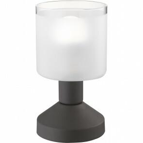 LED Tafellamp - Tafelverlichting - Trion Garlo - E14 Fitting - Rond - Roestkleur - Aluminium