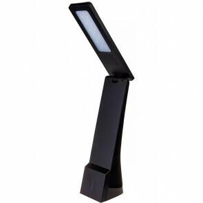 LED Tafellamp - Viron Sunly - 4W - USB Oplaadfunctie - RGB - Aanpasbare Kleur - Dimbaar - Mat Zwart - Kunststof