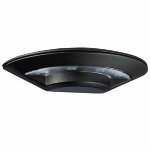 LED Tuinverlichting - Buitenlamp - Assita - Wand - Aluminium Mat Zwart - 5.5W Natuurlijk Wit 4100K - Ovaal