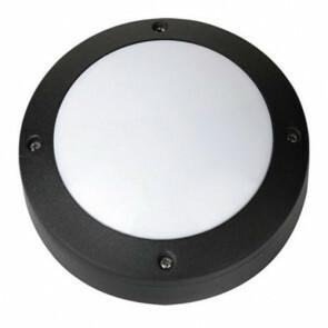 LED Tuinverlichting - Buitenlamp - Maron - Wand - Aluminium Mat Zwart - 6W Natuurlijk Wit 4000K - Rond