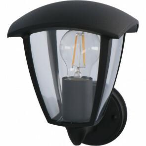 LED Tuinverlichting - Buitenlamp - Sanola Ponci - E27 Fitting - Mat Zwart - Aluminium