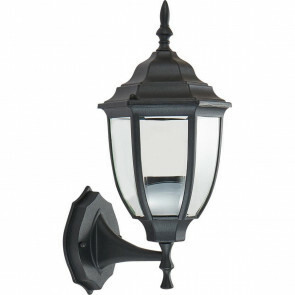 LED Tuinverlichting - Buitenlamp - Sanola Ronu - E27 Fitting - Mat Zwart - Aluminium