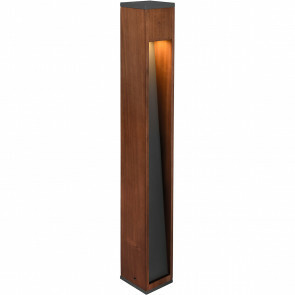 LED Tuinverlichting - Staande Buitenlamp - Trion Enico XL - GU10 Fitting - Rechthoek - Hout - Natuur Hout