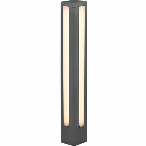 LED Tuinverlichting - Staande Buitenlamp - Trion Mitchi - 16W - Warm Wit 3000K - Rechthoek - Mat Antraciet - Aluminium