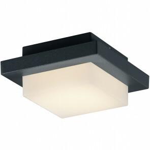 LED Tuinverlichting - Tuinlamp - Hando - Wand - 3W - Mat Zwart - Aluminium