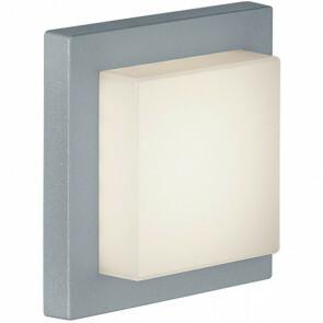 LED Tuinverlichting - Tuinlamp Plafond - Trion Hando - 3W - Mat Titaan - Aluminium