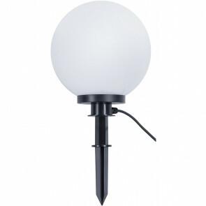 LED Tuinverlichting - Vloerlamp - Trion Balino - Staand - E27 Fitting - Mat Zwart - Kunststof - Ø300