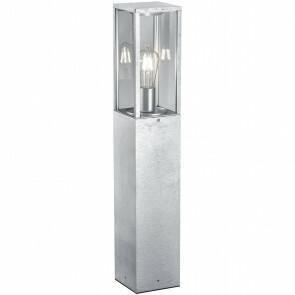 LED Tuinverlichting - Vloerlamp - Trion Garinola - Staand - E27 Fitting - Mat Grijs - Aluminium