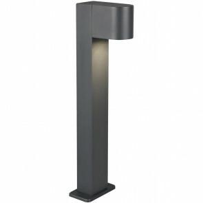 LED Tuinverlichting - Vloerlamp - Trion Royina - Staand - GU10 Fitting - Mat Zwart - Aluminium