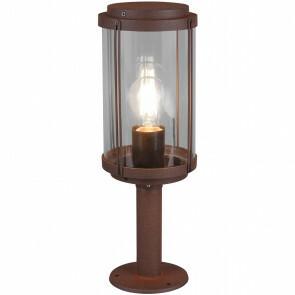 LED Tuinverlichting - Vloerlamp - Trion Taniron - Staand - E27 Fitting - Roestkleur - Aluminium