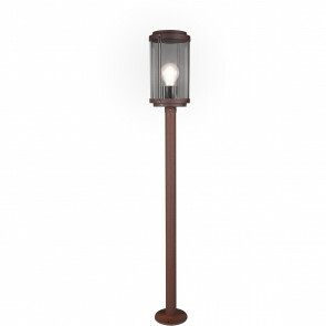LED Tuinverlichting - Vloerlamp - Trion Taniron XL - Staand - E27 Fitting - Roestkleur - Aluminium