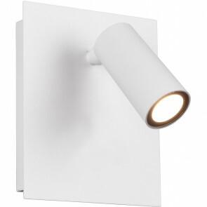 LED Tuinverlichting - Wandlamp Buitenlamp - Trion Sonei - 3W - Warm Wit 3000K - 1-lichts - Vierkant - Mat Wit - Aluminium