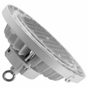 LED UFO High Bay - OSRAM - 150W UGR17 Dimbaar - Magazijnverlichting - Waterdicht IP65 - Helder/Koud Wit 6000K - Aluminium