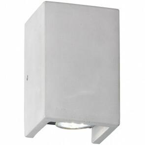 LED Wandlamp - Trion Cubin - GU10 Fitting - Rechthoek - Mat Beton
