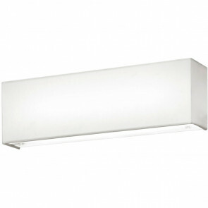 LED Wandlamp - Wandverlichting - Trion Lanago - 6W - Warm Wit 3000K - Rechthoek - Mat Wit - Aluminium