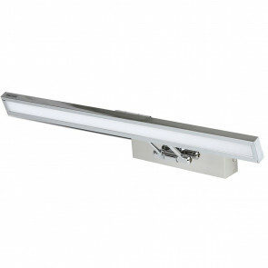 LED Spiegelverlichting - Schilderijverlichting - Viron Quala - 8W - Natuurlijk Wit 4000K - Mat Grijs - Aluminium
