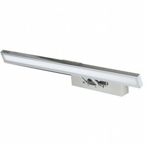 LED Spiegelverlichting - Schilderijverlichting - Viron Quala - 8W - Warm Wit 3000K - Mat Grijs - Aluminium