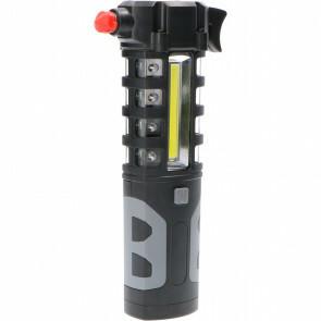 Lifehammer - Veiligheidshamer - Sanola Milti - LED Zaklamp - Gordelsnijder - Zwart
