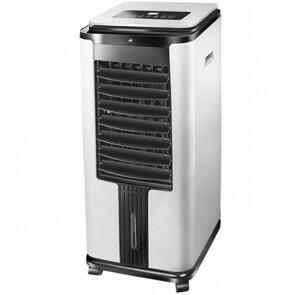 Luchtkoeler - Air Cooler - Luchtbevochtiger - Aigi Esila - Smart Wifi - Afstandsbediening - Timer - 7 Liter - Wit