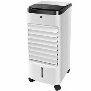 Luchtkoeler - Air Cooler - Luchtbevochtiger - Aigi Oliva - Afstandsbediening - Timer - 3.5 Liter - Wit