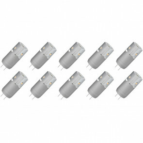 MEGAMAN - LED Lamp 10 Pack - Storm - G4 Fitting - 2W - Warm Wit 3000K | Vervangt 10W