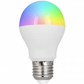 Mi-Light - LED Lamp - Smart LED - Wifi LED - Slimme LED - 6W - E27 Fitting - RGB+CCT - Aanpasbare Kleur - Dimbaar