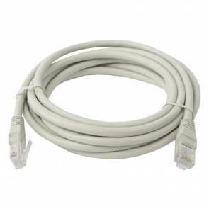 Netwerkkabel - Aigi Atryn - Cat6 UTP - 3 Meter - Koper - Grijs