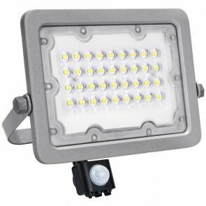 OSRAM - LED Bouwlamp 30 Watt met sensor - Facto Dary - LED Schijnwerper - Natuurlijk Wit 4000K - Waterdicht IP65