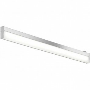 OSRAM - LED Spiegelverlichting - Trion Nalina - 9W - Spatwaterdicht IP44 - Warm Wit 3000K - Glans Chroom - Aluminium