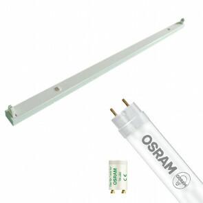 OSRAM - LED TL Armatuur met T8 Buis - SubstiTUBE Value EM 840 - Aigi Dybolo - 120cm Enkel - 16.2W - Natuurlijk Wit 4000K
