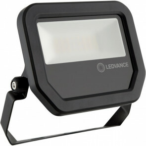 OSRAM - LEDVANCE - LED Breedstraler 20 Watt - LED Schijnwerper - FL PFM SYM 100 BK - Warm Wit 3000K - Mat Zwart - Aluminium