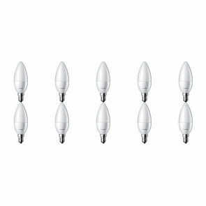 PHILIPS - LED Lamp 10 Pack - CorePro Candle 827 B35 FR - E14 Fitting - 4W - Warm Wit 2700K | Vervangt 25W