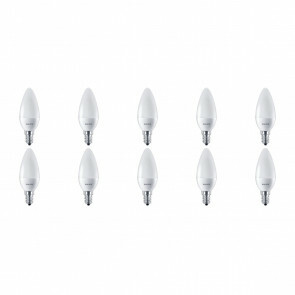 PHILIPS - LED Lamp 10 Pack - CorePro Candle 827 B38 FR - E14 Fitting - 7W - Warm Wit 2700K | Vervangt 60W