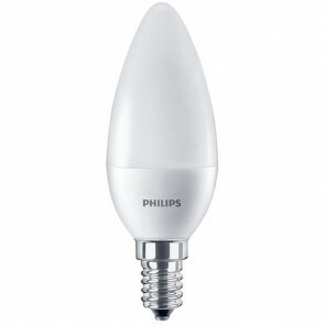 PHILIPS - LED Lamp - CorePro Candle 827 B38 FR - E14 Fitting - 7W - Warm Wit 2700K | Vervangt 60W