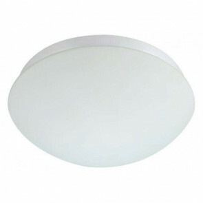 PHILIPS - LED Plafondlamp met Bewegingssensor - CorePro LEDbulb 827 A60 - 360° Sensor - E27 Fitting - 8W - Warm Wit 2700K - Mat Wit - Melkglas