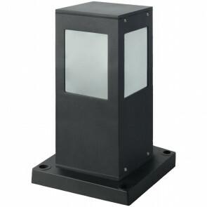 PHILIPS - LED Tuinverlichting - Staande Buitenlamp - CorePro LEDbulb 827 A60 - Kavy 3 - E27 Fitting - 8W - Warm Wit 2700K - Vierkant - Aluminium