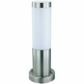 PHILIPS - LED Tuinverlichting - Staande Buitenlamp - CorePro LEDbulb 827 A60 - Laurea 3 - E27 Fitting - 5.5W - Warm Wit 2700K - Rond - RVS