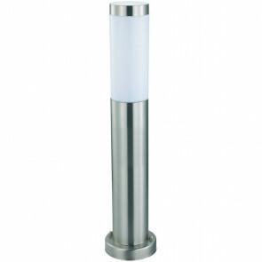 PHILIPS - LED Tuinverlichting - Staande Buitenlamp - CorePro LEDbulb 827 A60 - Laurea 4 - E27 Fitting - 8W - Warm Wit 2700K - Rond - RVS