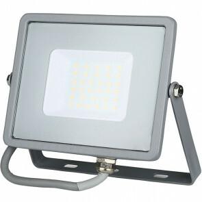 SAMSUNG - LED Bouwlamp 30 Watt - LED Schijnwerper - Viron Dana - Warm Wit 3000K - Mat Grijs - Aluminium