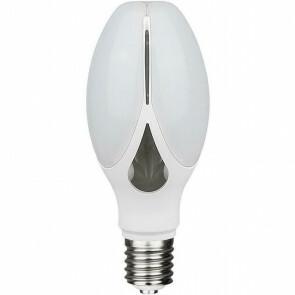 SAMSUNG - LED Lamp - Bulb - E27 Fitting - 36W - Helder/Koud Wit 6400K - Mat Wit - Aluminium