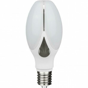 SAMSUNG - LED Lamp - Bulb - E27 Fitting - 36W - Warm Wit 3000K - Mat Wit - Aluminium